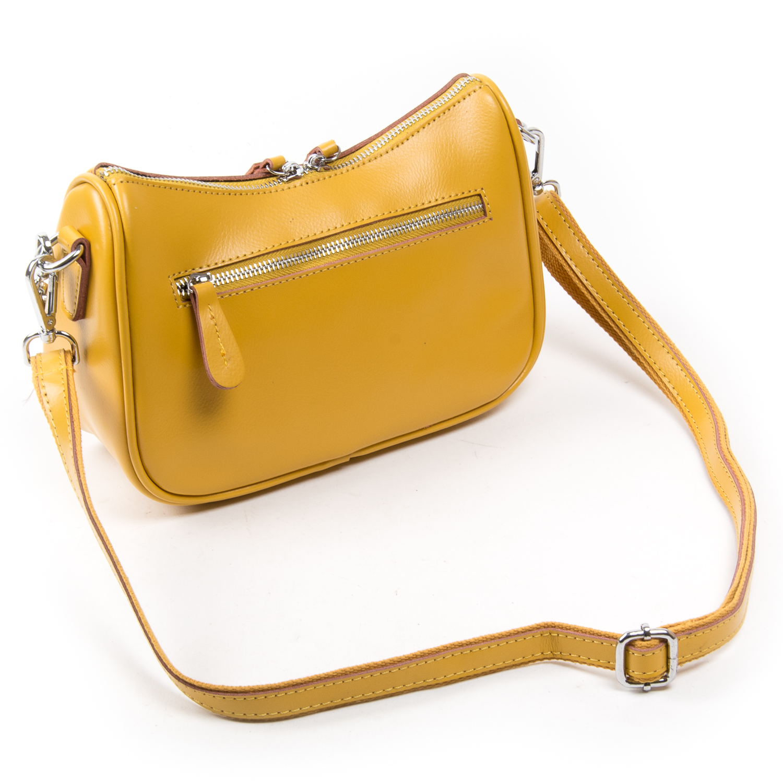 Сумка Женская Классическая кожа ALEX RAI 03-02 8691 yellow - фото 4