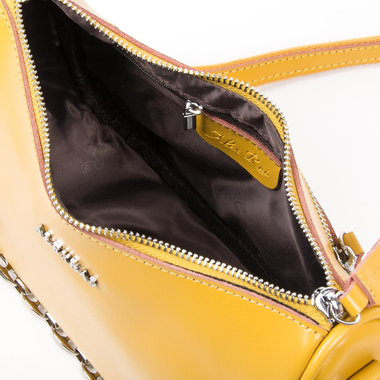 Сумка Женская Классическая кожа ALEX RAI 03-02 8691 yellow - фото 5