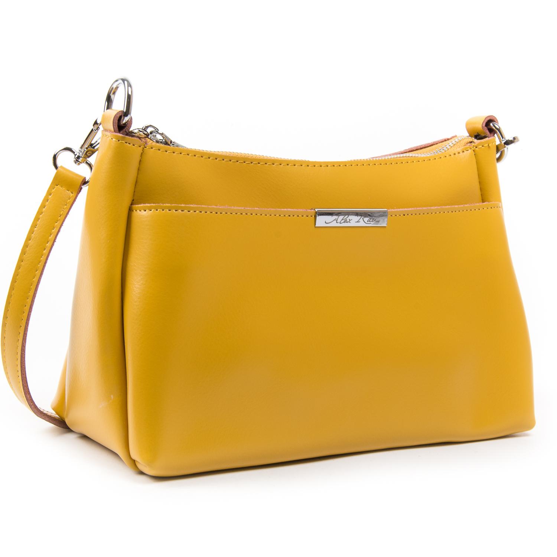 Сумка Женская Классическая кожа ALEX RAI 03-02 8724 yellow