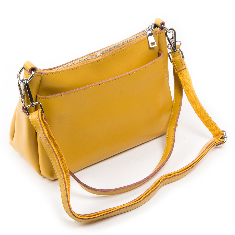 Сумка Женская Классическая кожа ALEX RAI 03-02 8724 yellow - фото 4