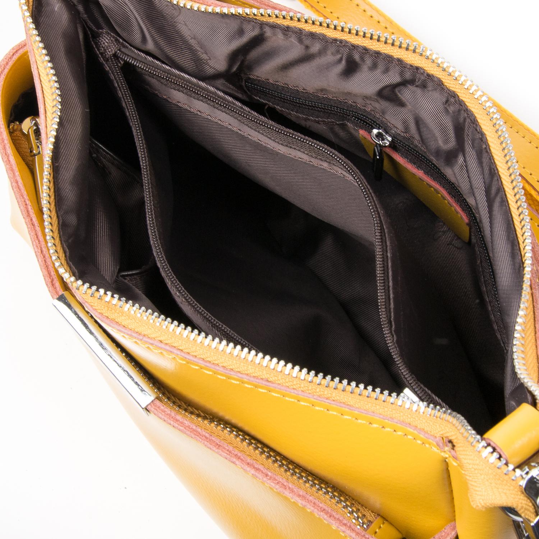 Сумка Женская Классическая кожа ALEX RAI 03-02 8724 yellow - фото 5