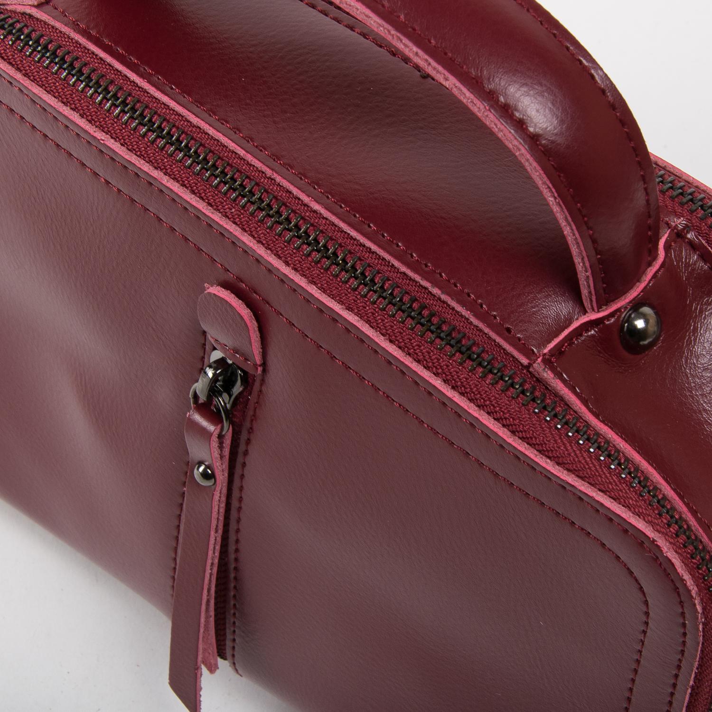 Сумка Женская Классическая кожа ALEX RAI 03-02 9119 l-red - фото 3