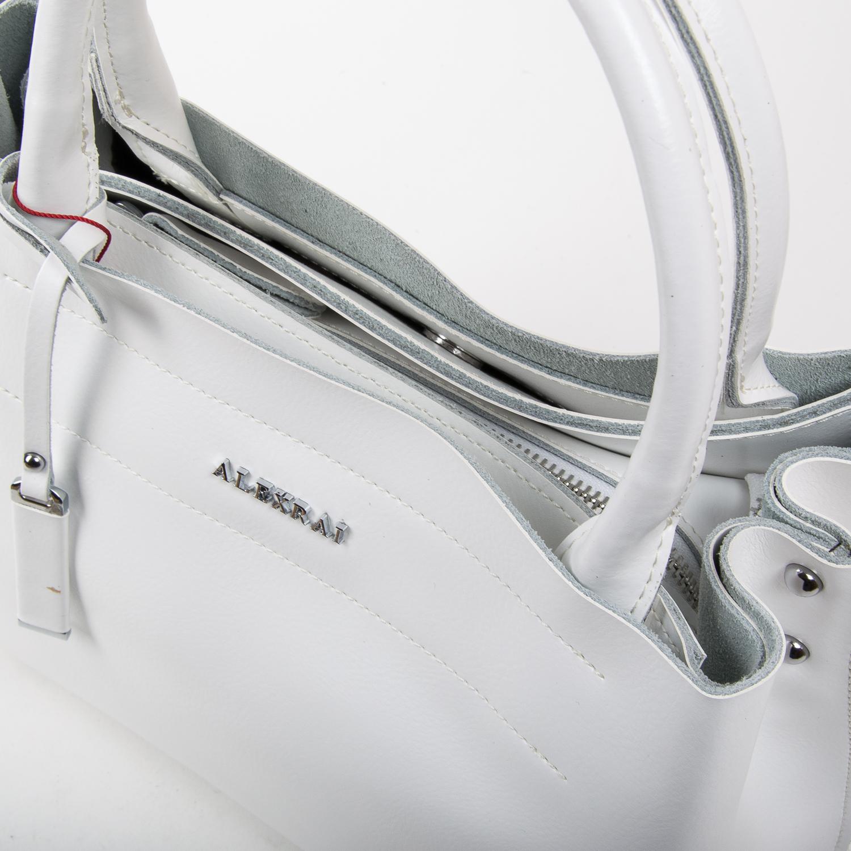Сумка Женская Классическая кожа ALEX RAI 05-01 8550-1 white - фото 3