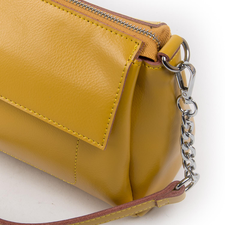 Сумка Женская Классическая кожа ALEX RAI 05-01 8721 yellow - фото 3