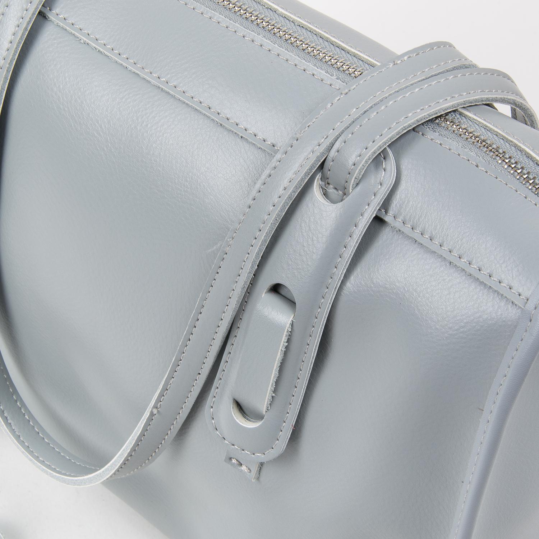 Сумка Женская Классическая кожа ALEX RAI 05-01 8797 light-grey - фото 3
