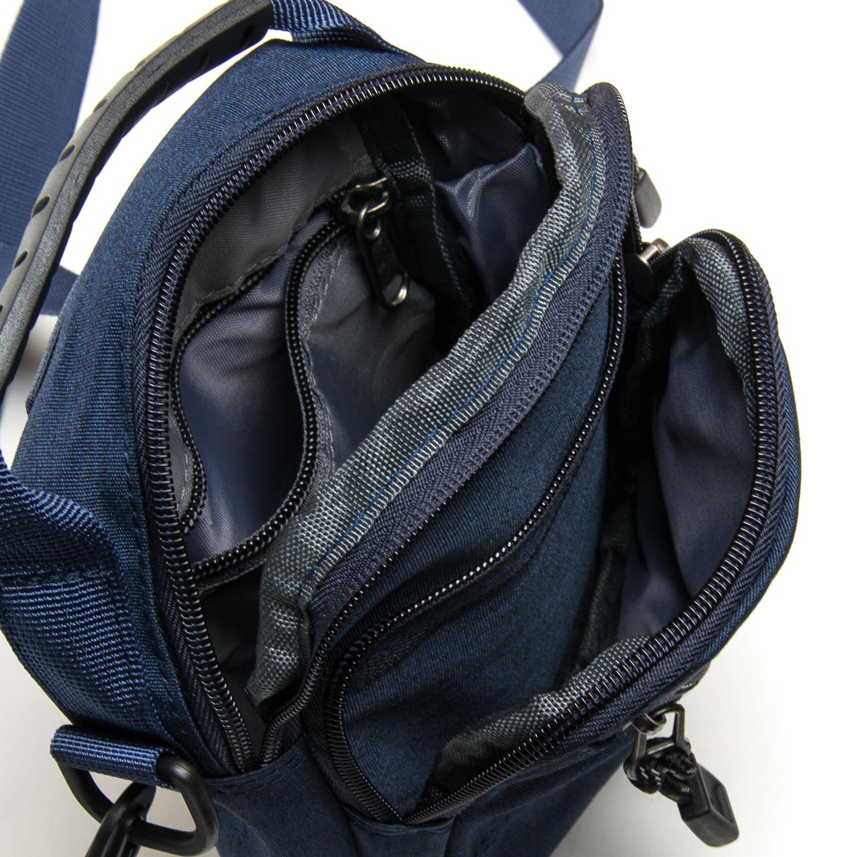 Сумка Мужская Планшет нейлон Lanpad 6011 blue - фото 5