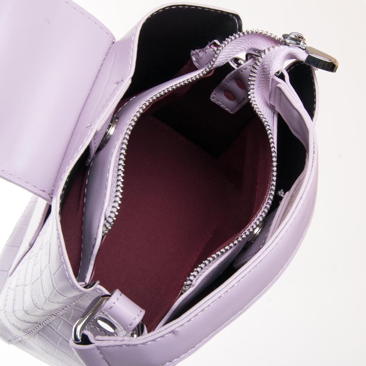 Сумка Женская Классическая иск-кожа FASHION 01-03 16905 purple - фото 5