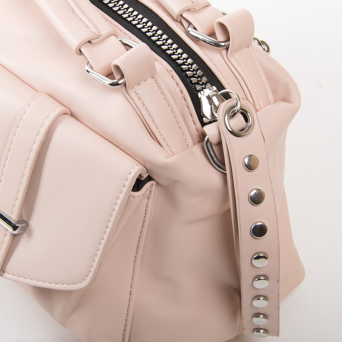 Сумка Женская Классическая иск-кожа FASHION 01-03 5709 pink - фото 3