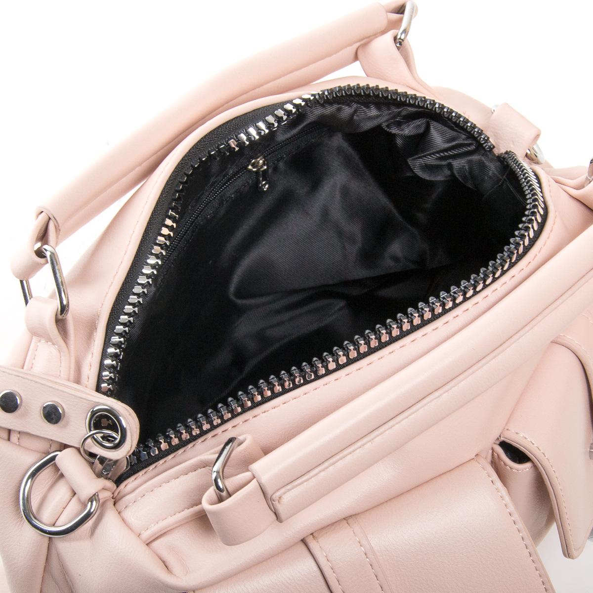 Сумка Женская Классическая иск-кожа FASHION 01-03 5709 pink - фото 5