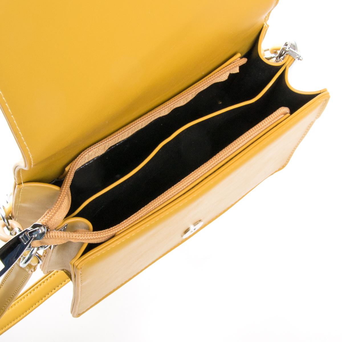 Сумка Женская Классическая иск-кожа FASHION 01-03 703 yellow - фото 5