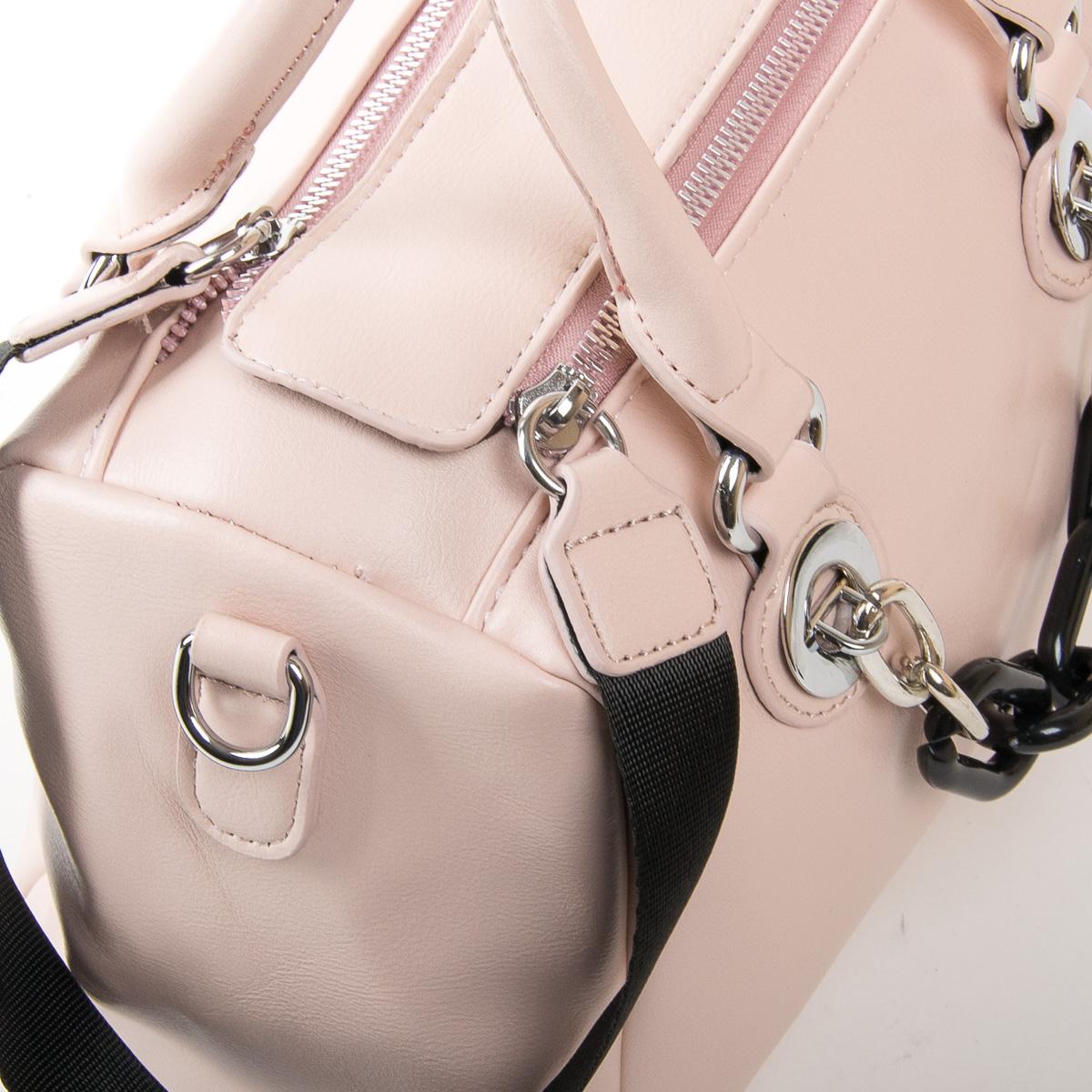 Сумка Женская Классическая иск-кожа FASHION 01-03 975 pink - фото 3