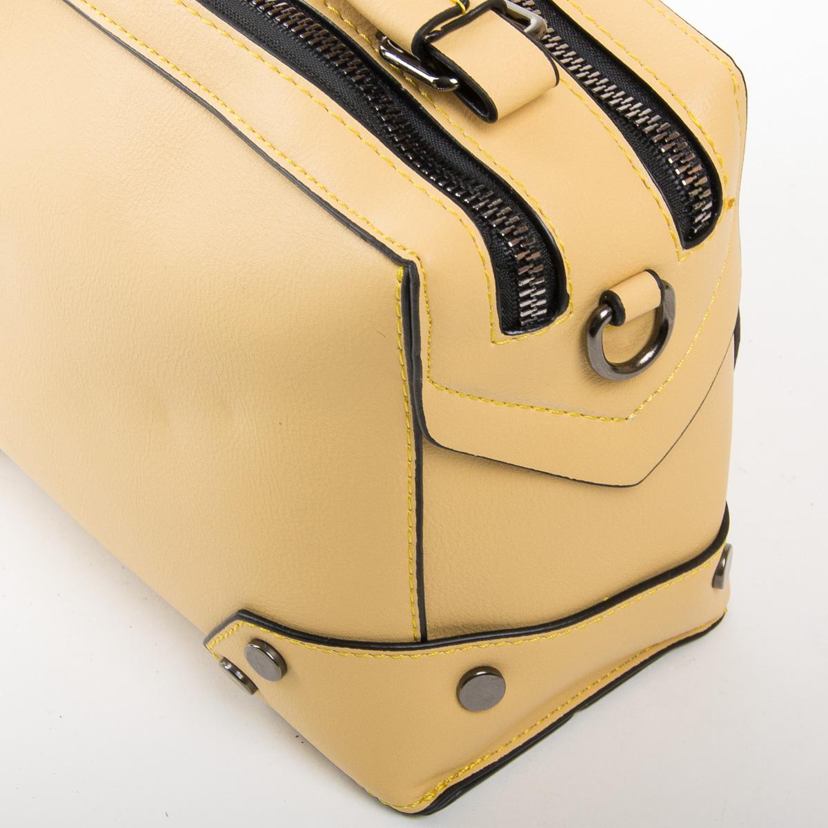 Сумка Женская Классическая иск-кожа FASHION 01-03 9790 yellow - фото 3