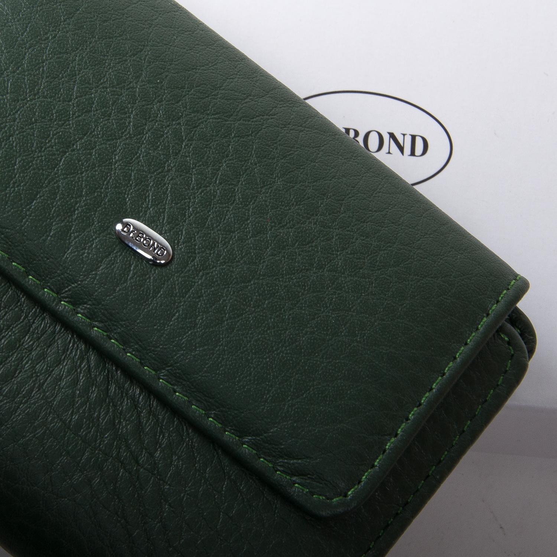 Кошелек Classic кожа DR. BOND WN-1 green - фото 3