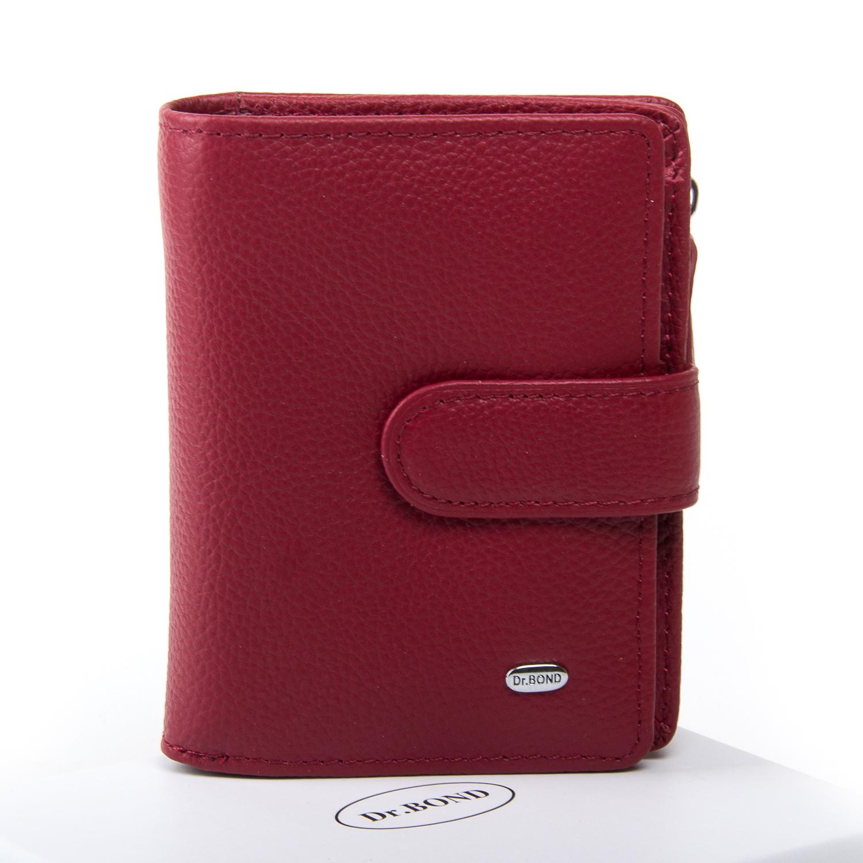 Кошелек Classic кожа DR. BOND WN-2 bordeaux-red