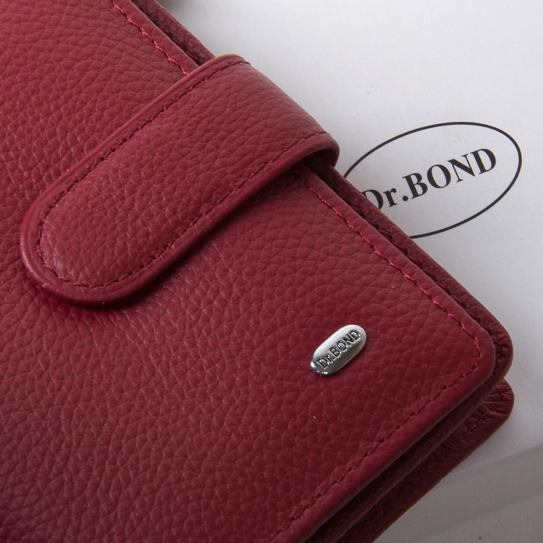 Кошелек Classic кожа DR. BOND WN-2 bordeaux-red - фото 3