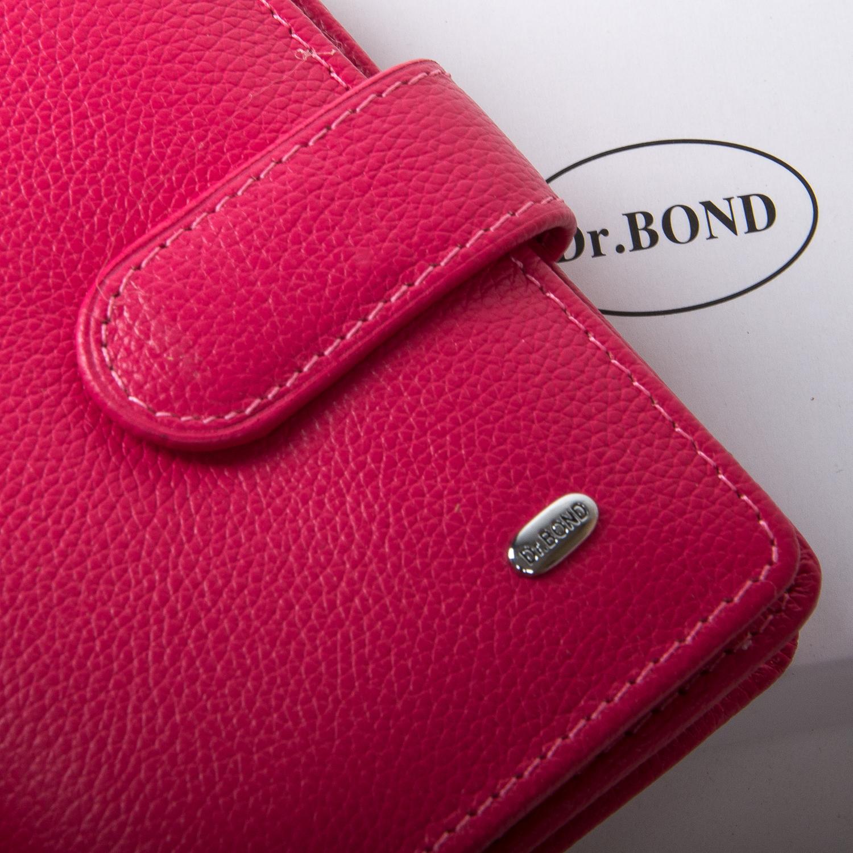 Кошелек Classic кожа DR. BOND WN-2 pink-red - фото 3