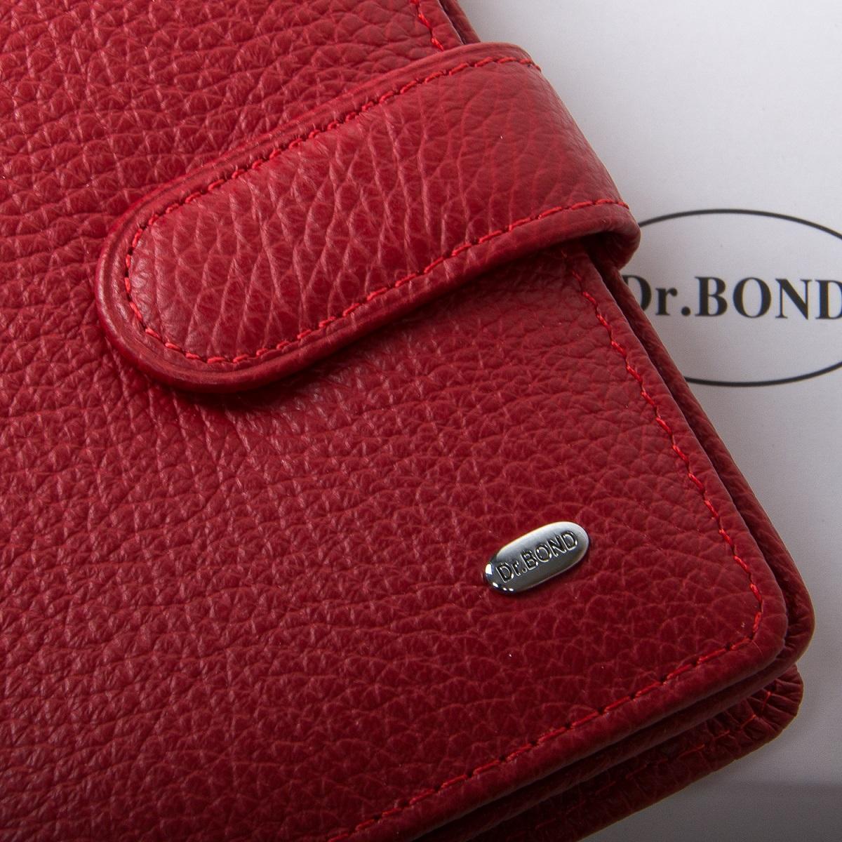 Кошелек Classic кожа DR. BOND WN-2 red - фото 4