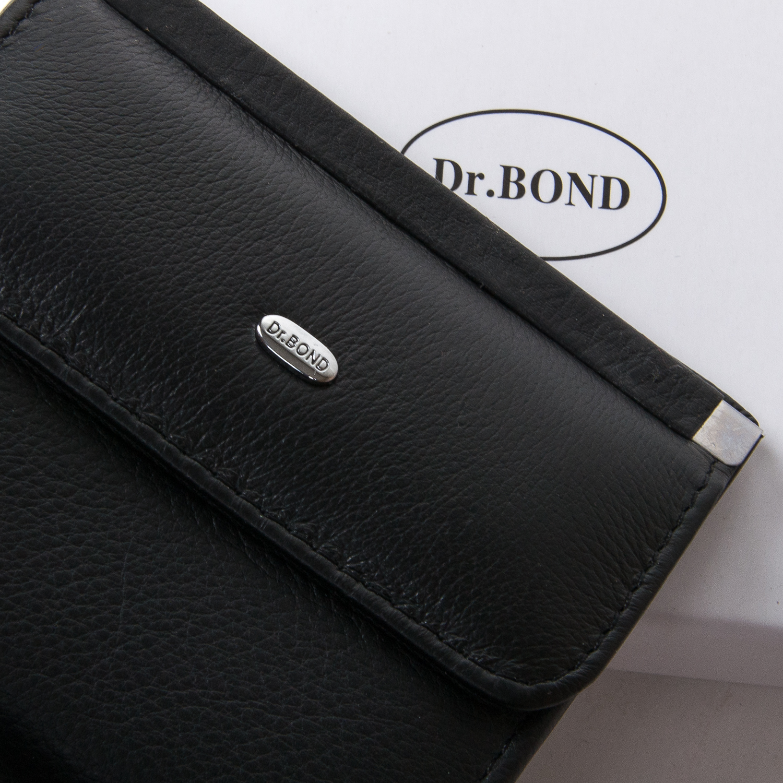 Кошелек Classic кожа DR. BOND WN-3 black - фото 3