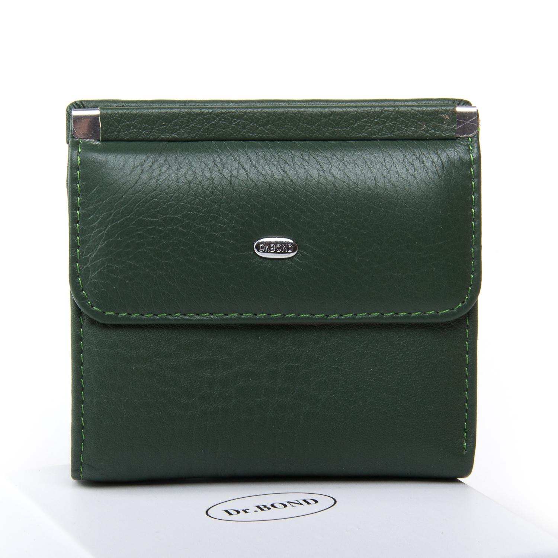 Кошелек Classic кожа DR. BOND WN-3 green
