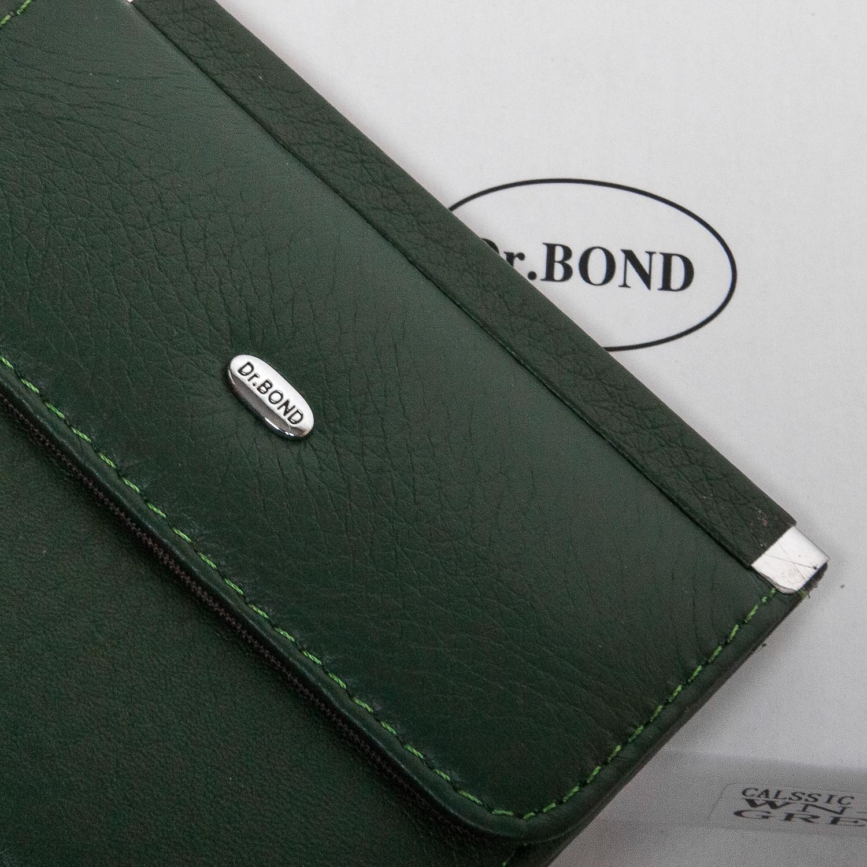 Кошелек Classic кожа DR. BOND WN-3 green - фото 3