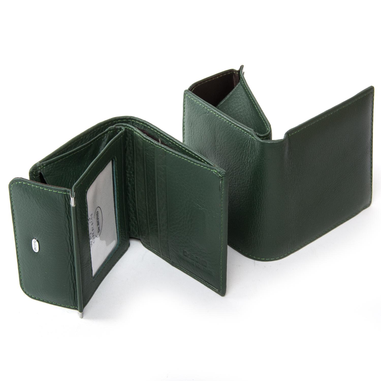 Кошелек Classic кожа DR. BOND WN-3 green - фото 4