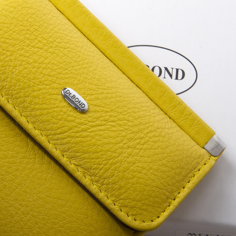 Кошелек Classic кожа DR. BOND WN-3 yellow - фото 3