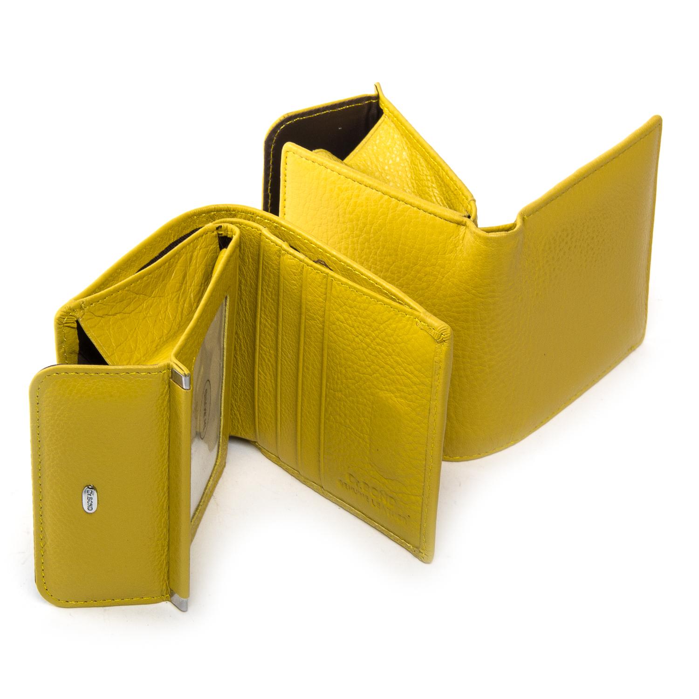 Кошелек Classic кожа DR. BOND WN-3 yellow - фото 4