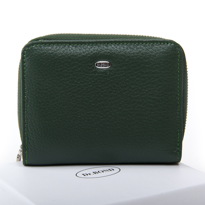 Кошелек Classic кожа DR. BOND WN-4 green
