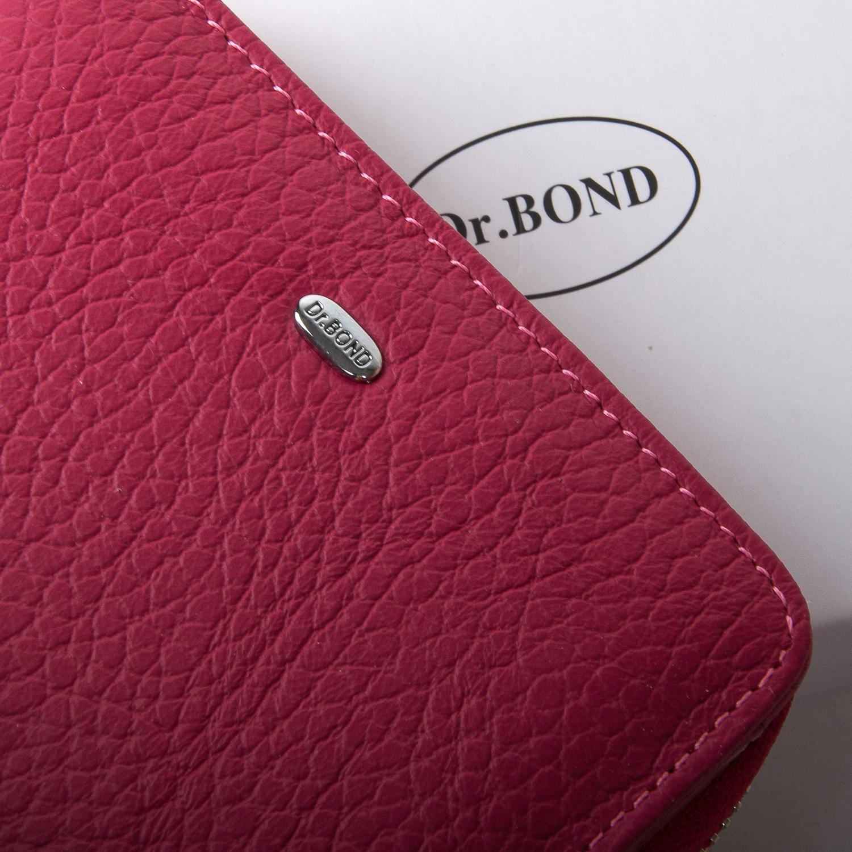 Кошелек Classic кожа DR. BOND WN-4 pink-red - фото 3
