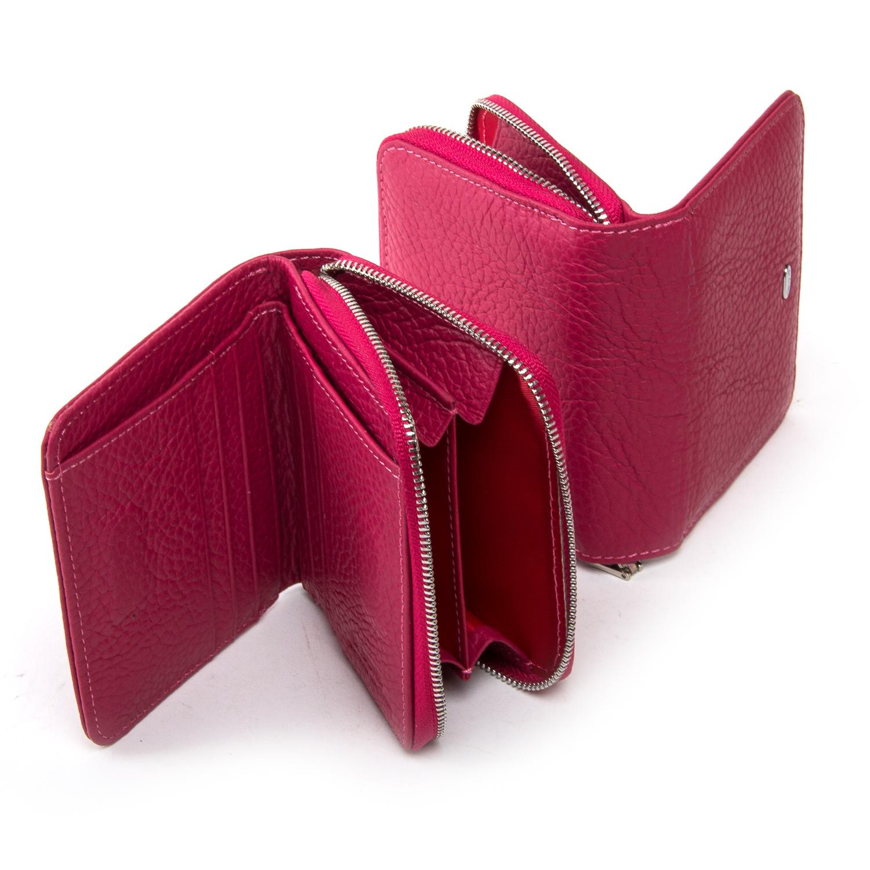 Кошелек Classic кожа DR. BOND WN-4 pink-red - фото 4