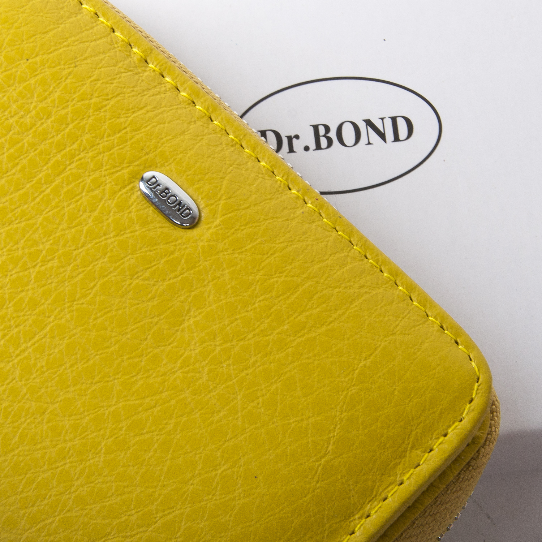 Кошелек Classic кожа DR. BOND WN-4 yellow - фото 3