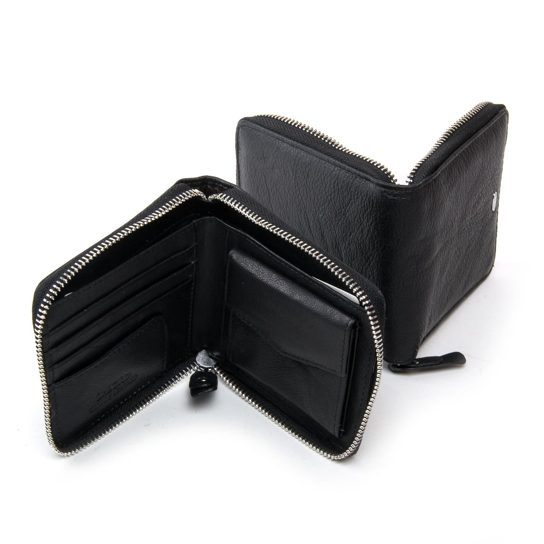Кошелек Classic кожа DR. BOND WN-5 black - фото 4