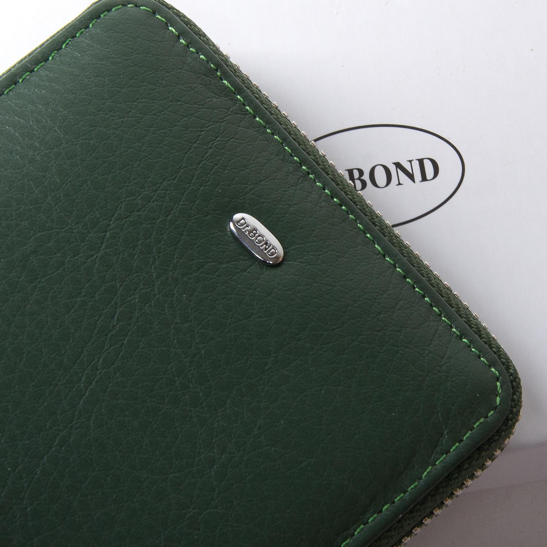 Кошелек Classic кожа DR. BOND WN-5 green - фото 3