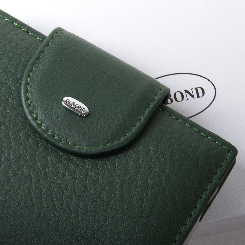 Кошелек Classic кожа DR. BOND WN-6 green - фото 3