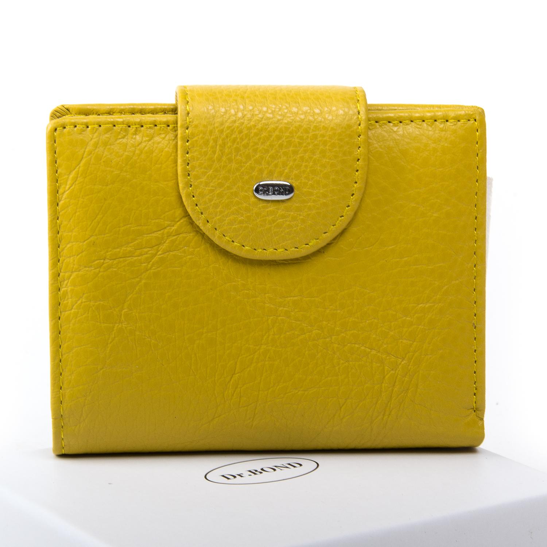 Кошелек Classic кожа DR. BOND WN-6 yellow