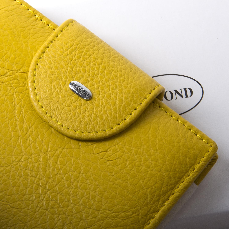 Кошелек Classic кожа DR. BOND WN-6 yellow - фото 3