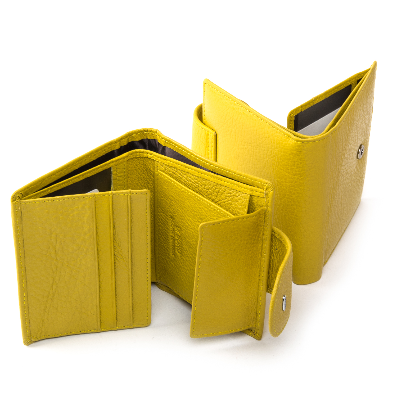 Кошелек Classic кожа DR. BOND WN-6 yellow - фото 4