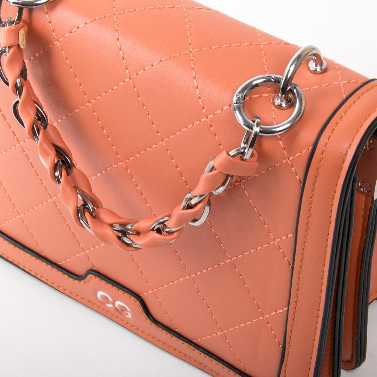 Сумка Женская Классическая иск-кожа FASHION 01-04 18576 orange - фото 3