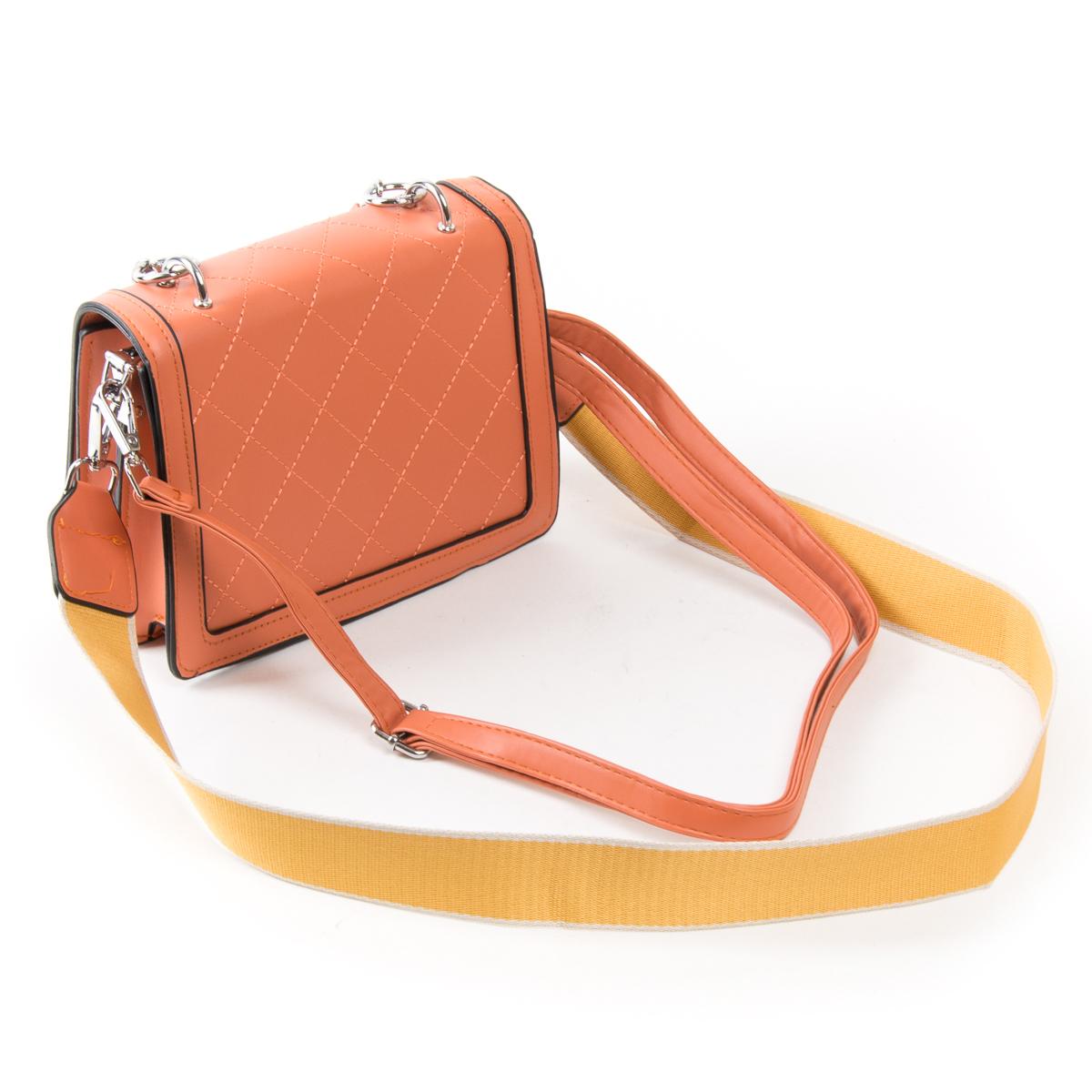 Сумка Женская Классическая иск-кожа FASHION 01-04 18576 orange - фото 4