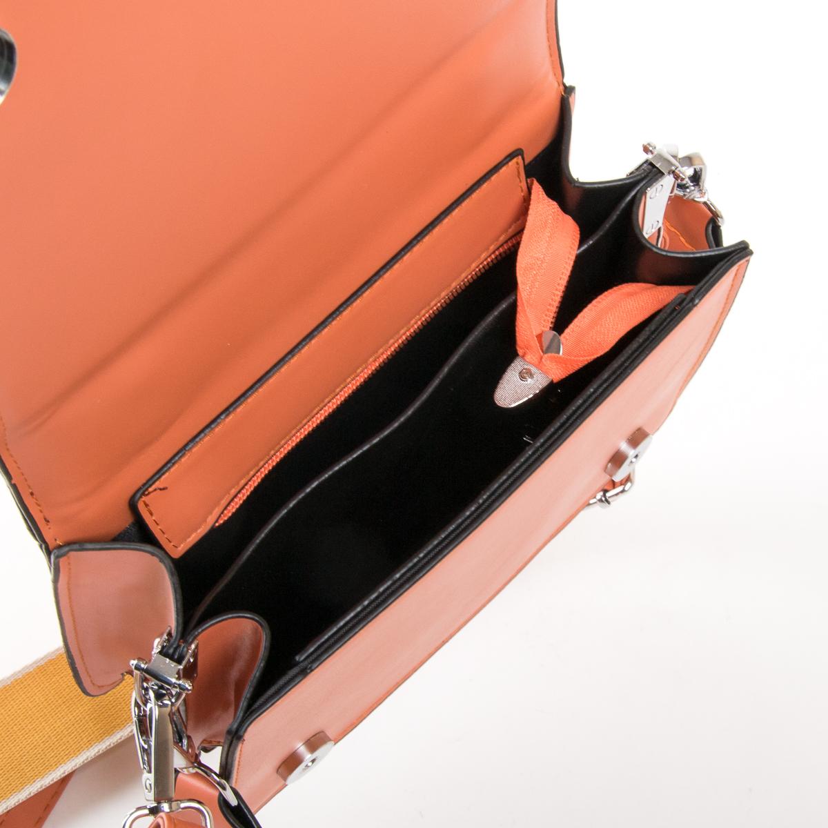 Сумка Женская Классическая иск-кожа FASHION 01-04 18576 orange - фото 5