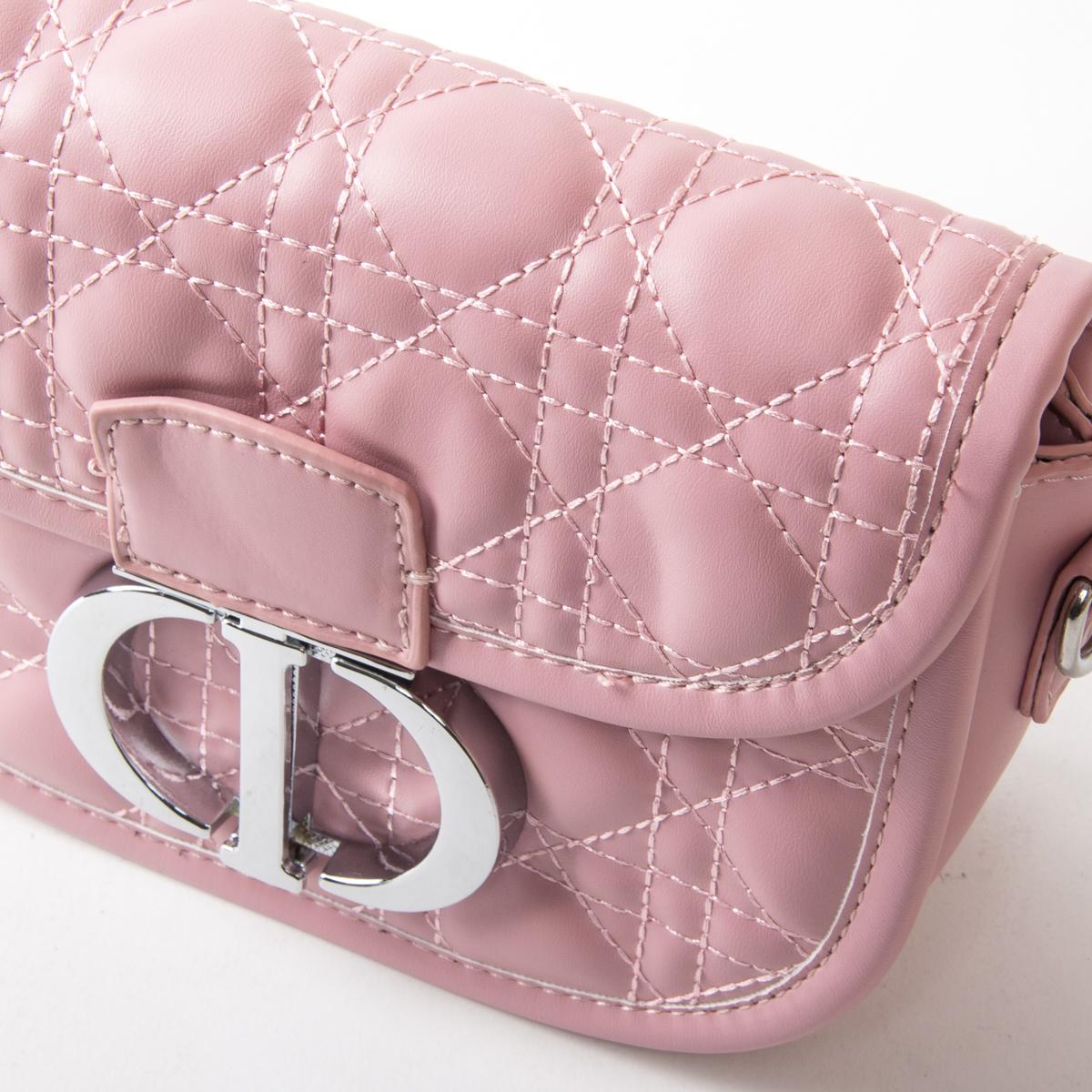 Сумка Женская Классическая иск-кожа FASHION 01-04 7117 pink - фото 3