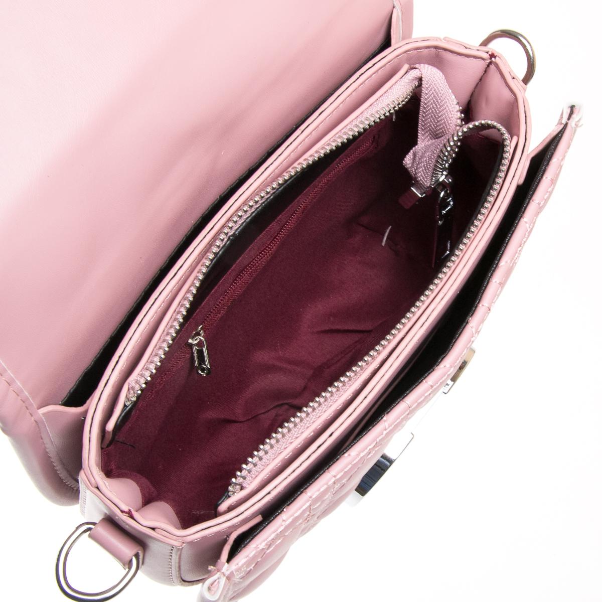 Сумка Женская Классическая иск-кожа FASHION 01-04 7117 pink - фото 5