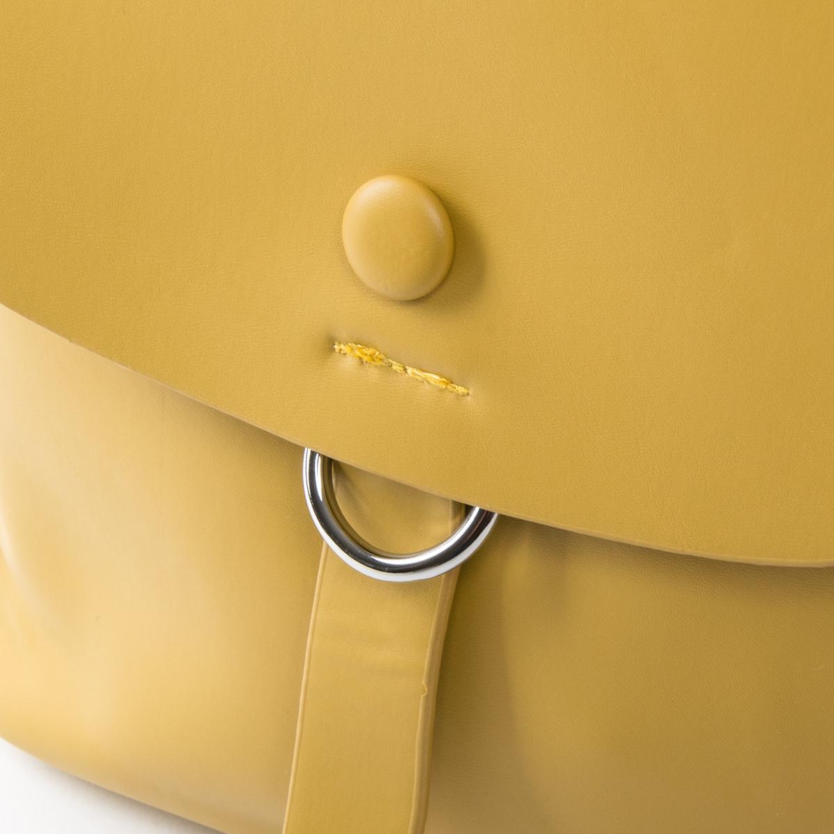 Сумка Женская Рюкзак иск-кожа FASHION 01-04 6151 yellow - фото 3