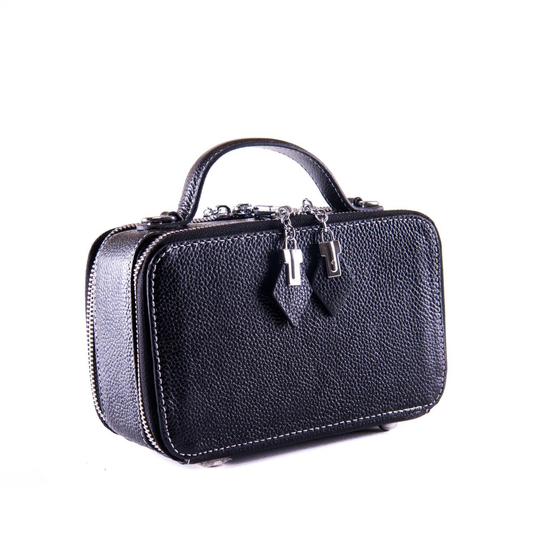 Сумка Женская Клатч кожа ALEX RAI 1-02 29017- black