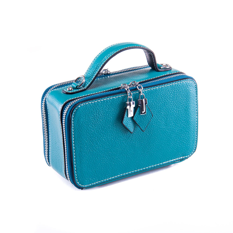 Сумка Женская Клатч кожа ALEX RAI 1-02 29017-13 blue