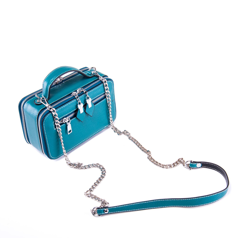 Сумка Женская Клатч кожа ALEX RAI 1-02 29017-13 blue - фото 3