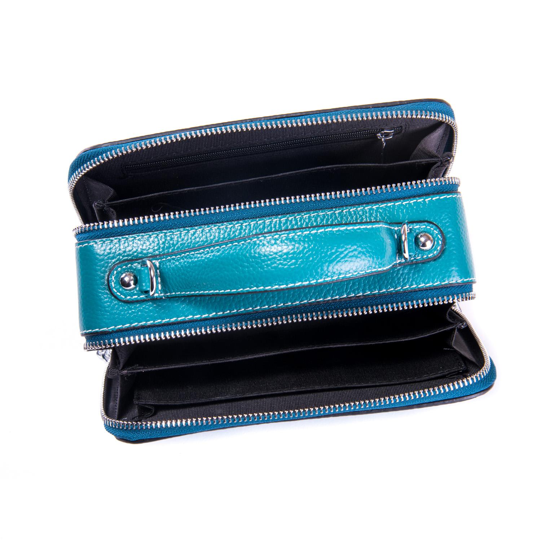 Сумка Женская Клатч кожа ALEX RAI 1-02 29017-13 blue - фото 4