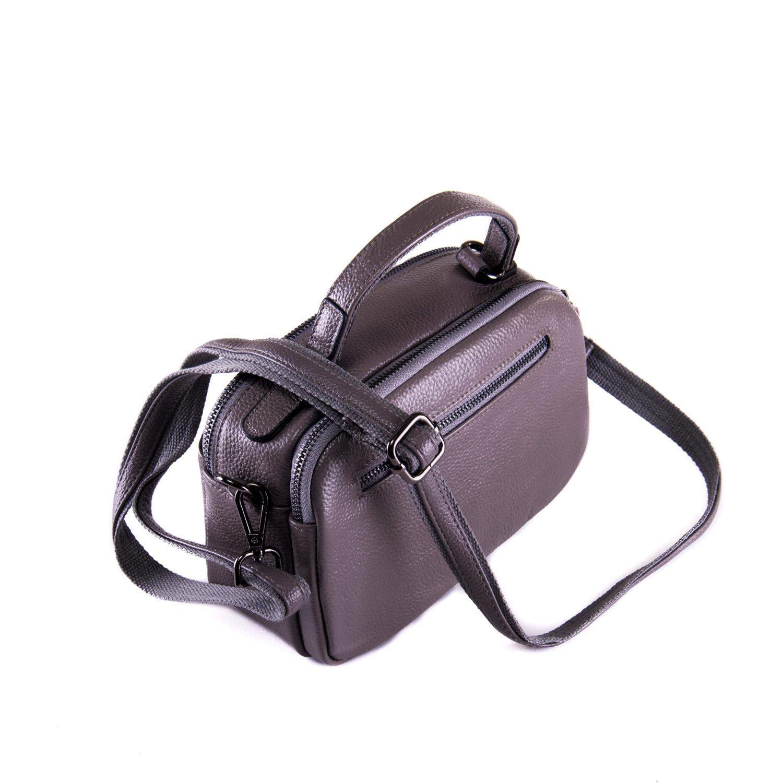 Сумка Женская Клатч кожа ALEX RAI 1-02 2903-7 grey - фото 3