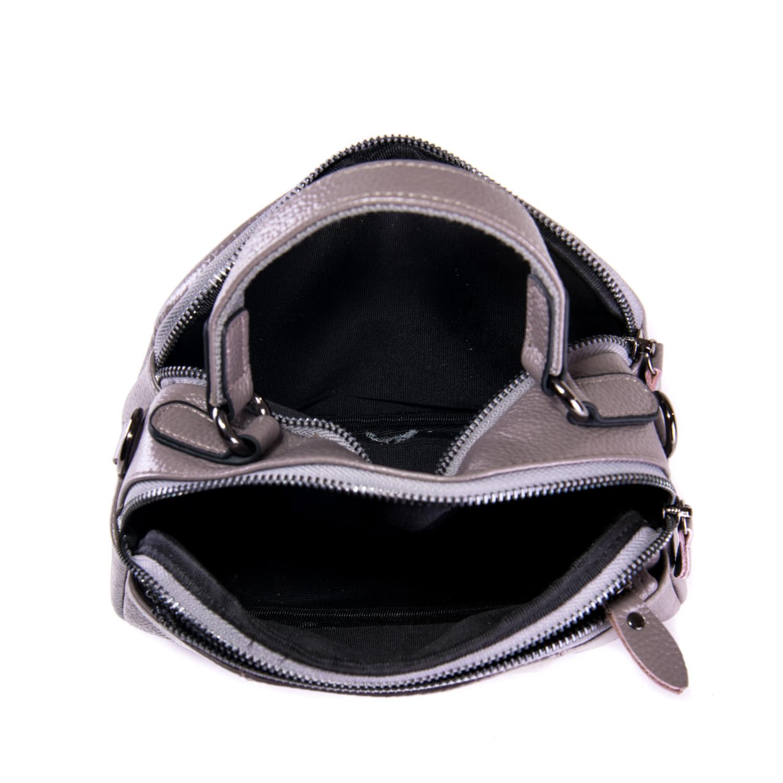 Сумка Женская Клатч кожа ALEX RAI 1-02 2903-7 grey - фото 4