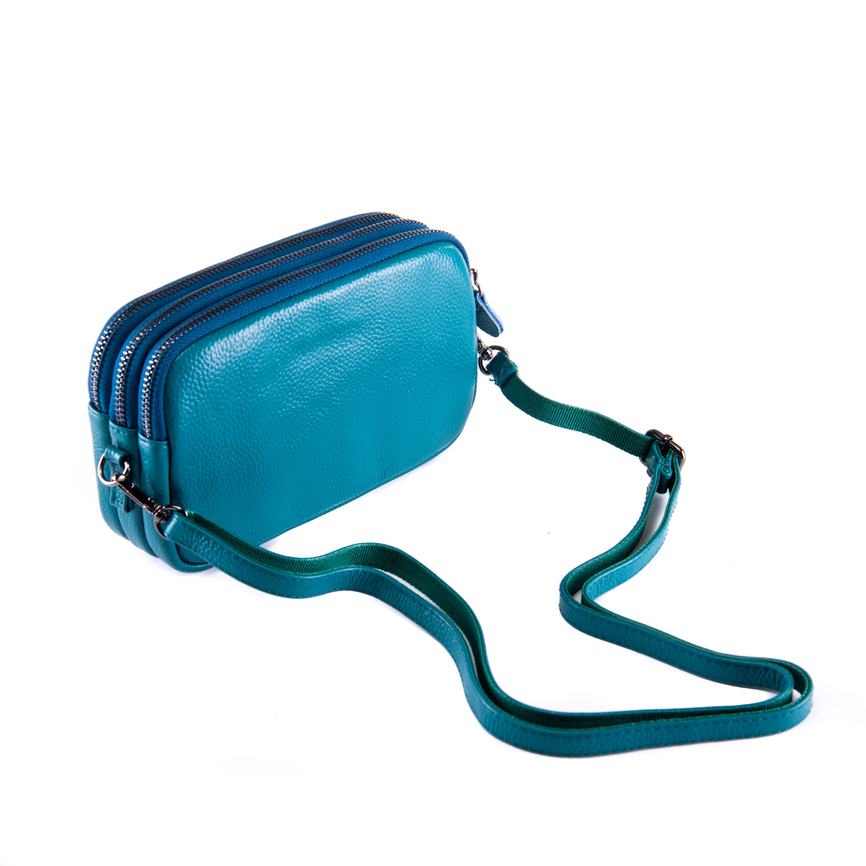Сумка Женская Клатч кожа ALEX RAI 1-02 60061-13 blue - фото 3